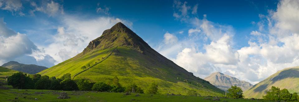 mountain and the greenary - photo #36